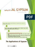 Dental Gypsum