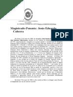 Doctrina Del Tsj Sobre Amp Const Sentencia 20-01 y 01-02-2000