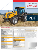 Espesificaciones tractor valtra BM125i