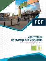 Porta Folio Program as Vie 2019