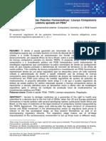 2016 Artigo O Palco Regulatório Das Patentes Farmacêuticas