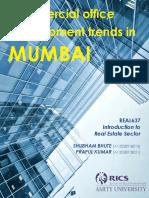 Commercial Office Development Trends in Mumbai