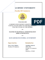 Dissertation on bancassurance in india.docx