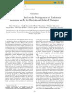 ETRF endotoxin filter