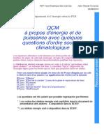 Qcm Energie 0