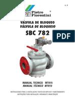 Valvula de Corte Sbc 782 Mt015 s p