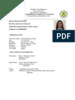 Resume of Hagokkkk Group