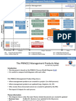 Prince2 2017 Product Map
