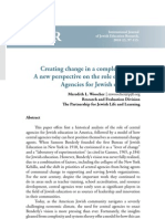 Creating Change in a Complex System