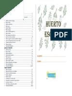 Dossier Huerto Escolar y Jardin 10 Marzo 2013