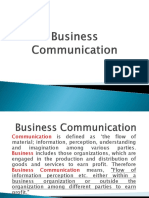 Business Communication NCBA