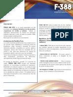 Ficha Técnica FRIXO 388