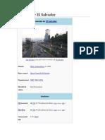 Economía de El Salvador proyecto 2° año 2018
