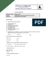 matematicas 9°