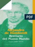 Alejandro de Humboldt Breviario del Nuevo Mundo.pdf