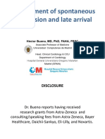 Management of spontaneous reperfusion and late arrival - Héctor Bueno, MD.pdf