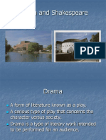 Drama and Shakespeare