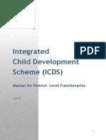 Integrated  Child Development  Scheme (ICDS)