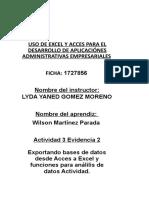 Activiadad 4 Evidencia 2
