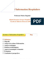 Systèmes d'Information Hospitaliers