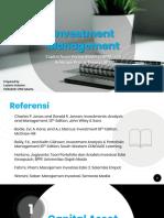 Manajemen Investasi Pertemuan 5