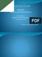 Proyecto Finalmauricio Bd
