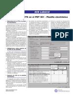 CTS 2 en PDT