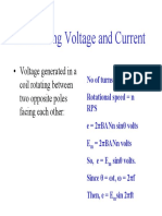 AC Voltage and Current