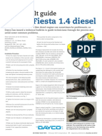 Timing Belt Guide Fiesta 14 Diesel