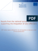 ISFOL Survey Italian Projects Ex Offenders Copertina