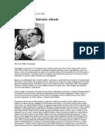 Feinman - Ayer Mataron a Salvador Allende
