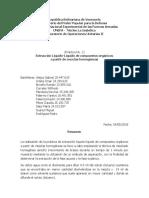 Extracción Liq-Liq - Informe II