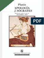 Platon - Apología de Socrates
