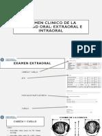 Examen Clinico de La Cavidad Oral