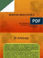 Derecho Mercantil II Arbitraje