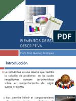 Elementos de Estadistica Descriptiva (1)