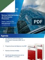CUMBRE DE LAS AMÉRICAS 2012 Normas Internacionales de Información Financiera