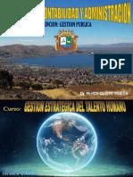GESTION ESTRATEGICA DEL TALENTO HUMANO TERCERA UNIDAD GESTION PUBLICA 2018.ppt