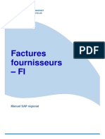 Factures Fournisseurs SAP