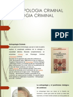 Antropologia Criminal y Biologia Criminal Diapositiva