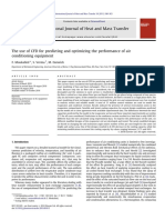 The use of CFD for predicting and optimizing the performance of air conditioning equipment.pdf
