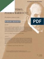 El Polifemo, poema barroco