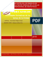 Portafolio I Unidad - DSI I 2018