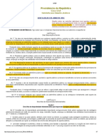 Lei Federal Nº 8.429.92 Lei de Improbidade Administrativa