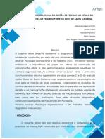 Diagnóstico Organizacional Em Gestão de Pessoas Um Estudo Em Uma Agroindústria de Pequeno Porte Do Oeste de Santa Catarina
