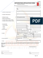 Application Form SI19