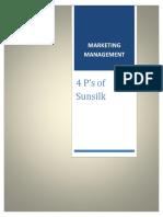 4 p's of Sunsilk (1)