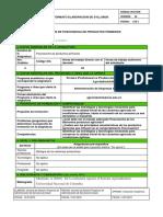 Syllabus Poscosecha de Productos Primarios - Distancia