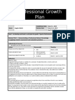 professional growth plan ps2