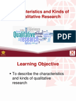 4 Characteristics and Kinds of Qualitative Research (3)